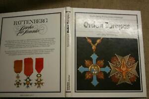 Sammlerbuch-Orden-Europas-Verdienstorden-Ritterorden-1660-1970-Geschichte