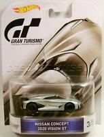 2020 Nissan Vision Gt Real Riders Gran Turismo 3/5 Playstation Hot Wheels 2016