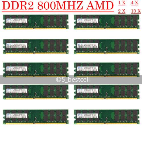 Samsung 4GB 8GB 16GB DDR2 800MHz PC2-6400 240PIN AMD DIMM Desktop Memory Ram lot