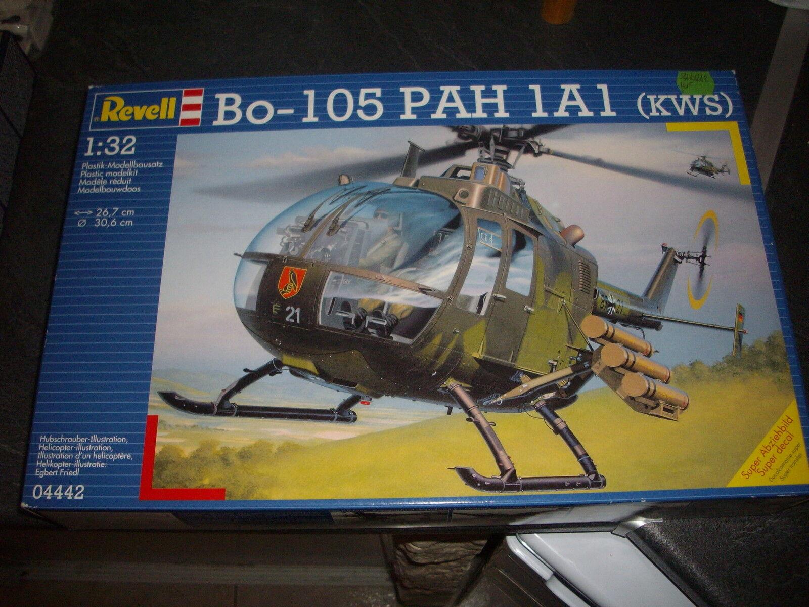 HELLER BO-105 PAH 1A1 (kws)  PLASTIC MODEL 1 32