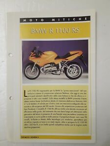 Scheda Tecnica Top Moto Mitiche Bmw R 1100 Rs Ebay