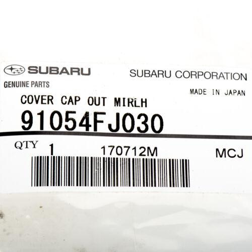 OEM 2012-2018 Subaru Left Side View Mirror Cover Impreza Forester NEW 91054FJ030