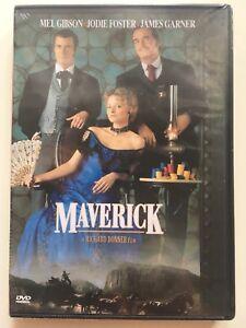 Maverick-DVD-NEUF-SOUS-BLISTER-Mel-Gibson-Jodie-Foster-James-Garner