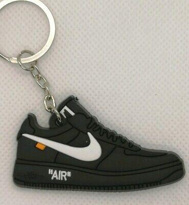 Porte clés Nike Air Force 1 low OFF White black | eBay