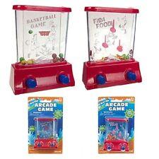 2 Mini Water Arcade Games Fine Motor Skill Stress Relief Fidget Toy for Children