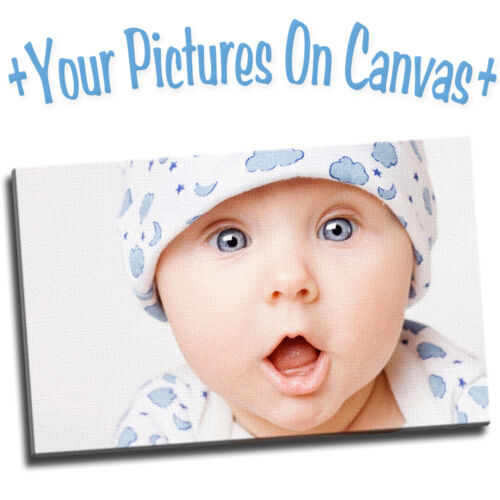 Your Photo Or Picture On A Quality Canvas Print Large Small A0 A1 A2 A3 A4