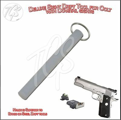 STANDARD EDITION Front Sight Drift Punch Tool GLOCK COLT 1911 SIG SIGHT PUSHER