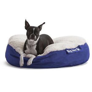 Round Dog Bed Medium Waterproof Mattress Bean Bag Pillow