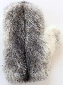 Mink Glove Fur Massage Kohinoor Fur Streichel Wellness Black Cross Natural
