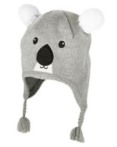 NWT Gymboree Snow Chillin/' Koala Bear Pom Pom Sweater Hat Tassel Girls 3 4 5 7 8