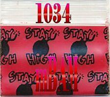 200 Stay High Mini Zip Bags12510 The Bomb! Apple Baggies 1.25 x 1 in