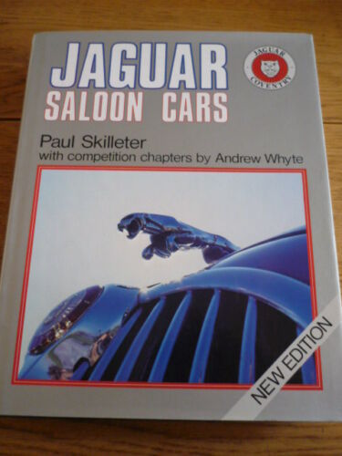 1 of 1 - JAGUAR SALOON CARS Car Book jm