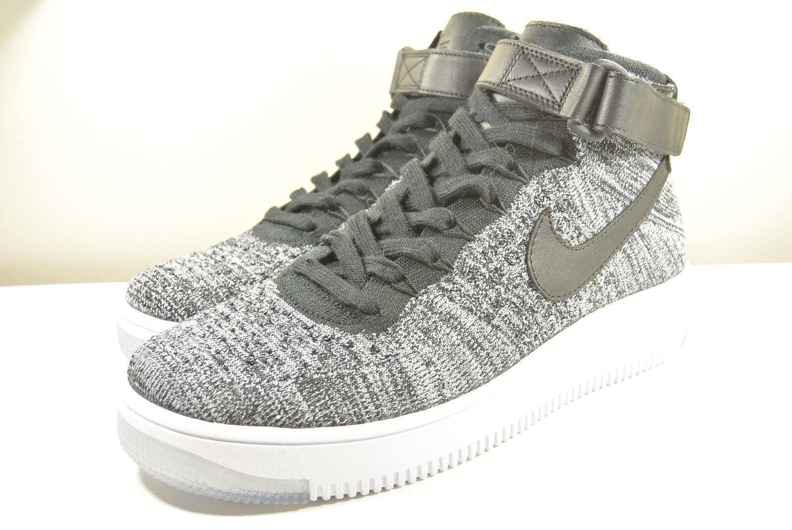 DS NIKE 2018 AIR FORCE 1 FLYKNIT OREO M 9.5 OR WMN 11 SUPREME CORK LEBRON SF-AF1
