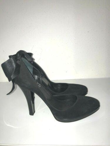 Femme Daim 36 Icone En Chaussures Noir N wrYYqtE8