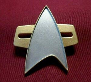 Star-Trek-Voyager-Uniform-Combadge-Communicator-Pin-Com-Badge-Costume