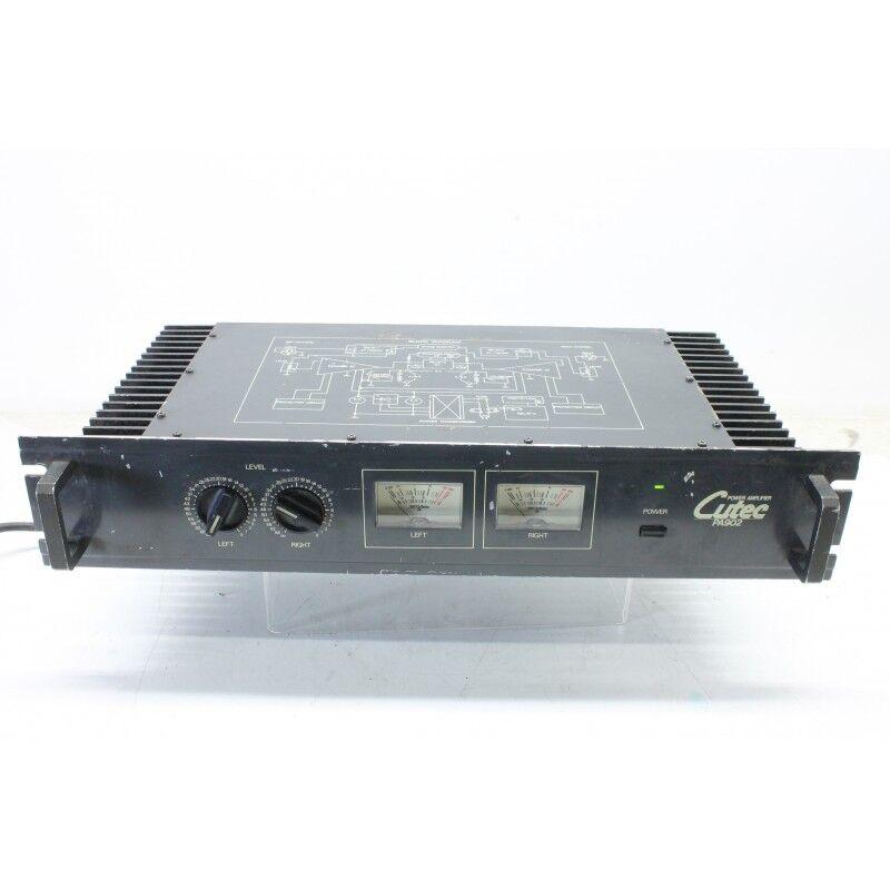 Cutec - PA902 - Power Amplifier