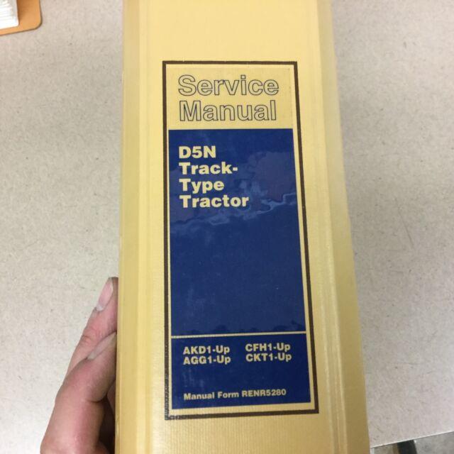 CAT Caterpillar D5n Service Shop Repair Manual Tractor Bulldozer AKD AGG  CFH Ckt