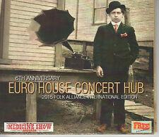 EURO HOUSE CONCERT HUB 6th Anniversary - 2015 24-track Double CD album set