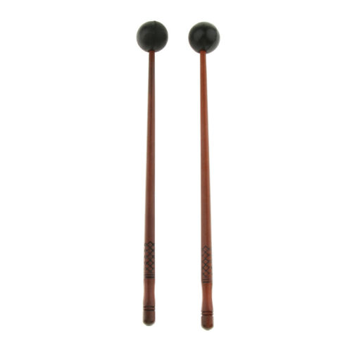 Exquisite 2 Paar Tongue Drum Mallets Drumsticks Percussion Instrument Teile