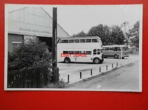 PHOTO-RELIANCE-DOUBLE-DECK-BUS-OUTSIDE-THE-BUS-DEPOT