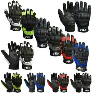 Motorcycle-Motorbike-Gloves-Knuckle-protection-Summer-Mountain-Riding-Sports-New