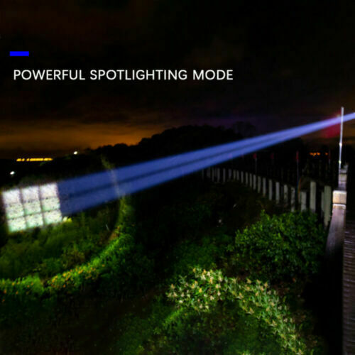 Most Bright XHP160 P100 LED Flashlight USB Rechargeable Zoom Torch Light Battery
