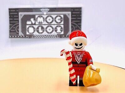 US SELLER - FITS LEGO Xmas Santa Jack Skeleton Custom Figure #490