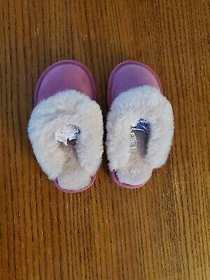 Emu Australia Girls Size K9 Pink Fluffy
