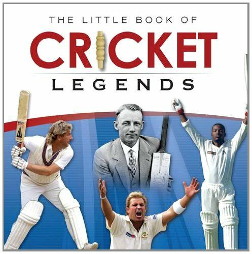1 of 1 - Little Book of Cricket Legends by Ralph Dellar 1909217107 The Cheap Fast Free