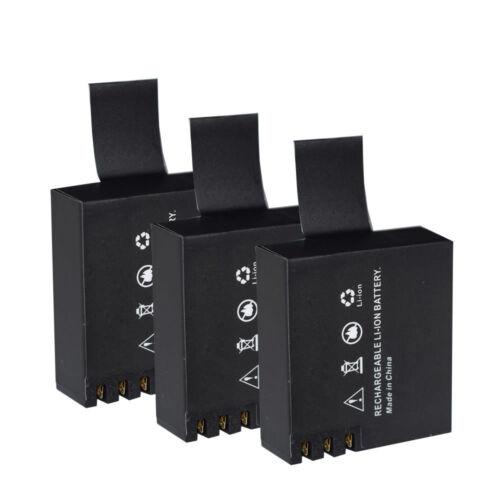 Battery For SJCAM SJ4000B Full HD DVR Action Sport Camera LCD Triple Charger