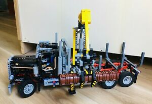 LEGO-Technic-Logging-Truck-9397-Rare-Retired-99-COMPLETE-OR-BETTER