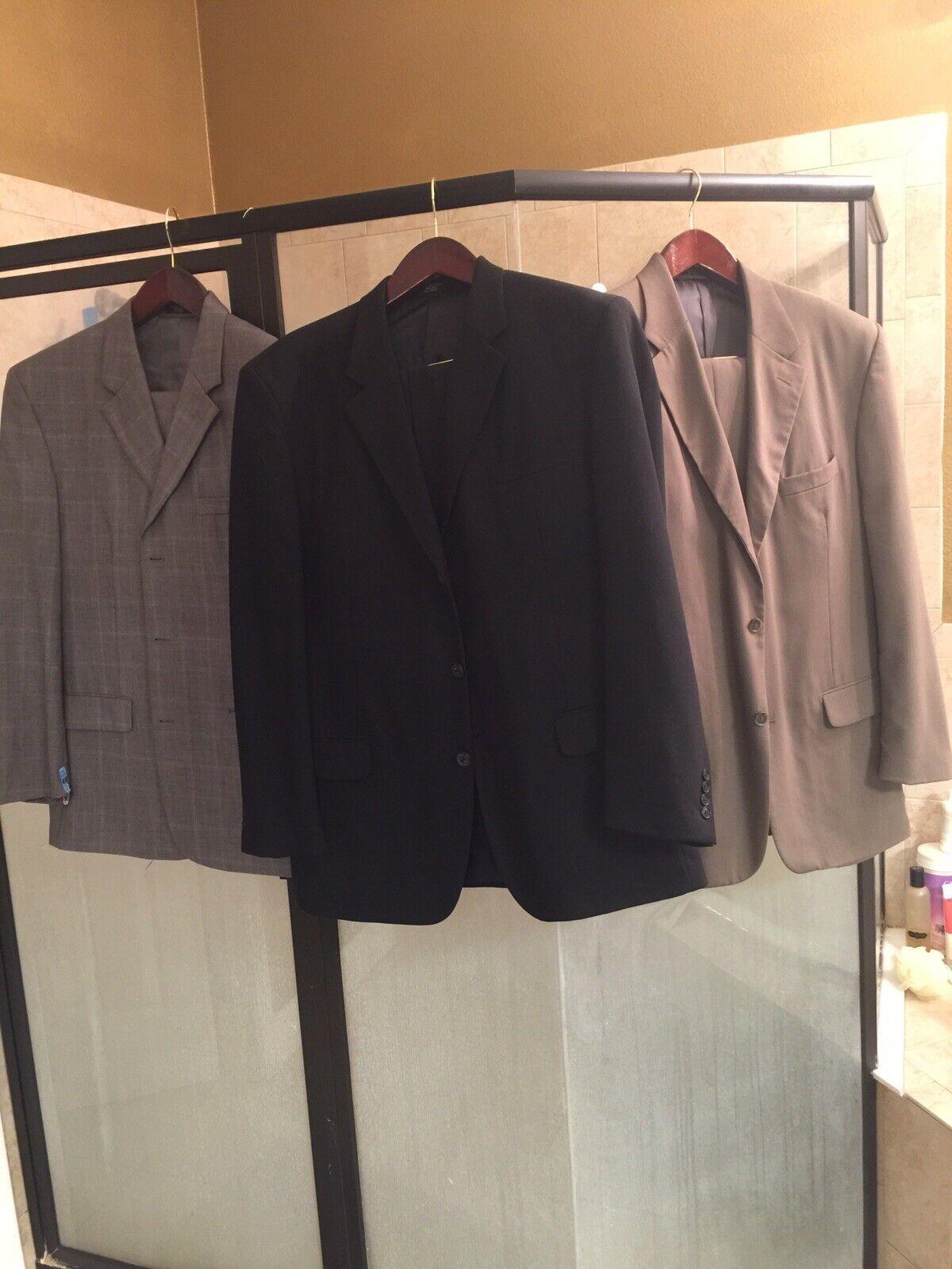 3 Mens suit 48 regular 3 Button 2 Piece