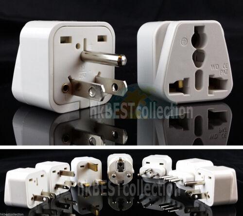US Plug Type B Universal Travel Adapter AC Power 3 Pins