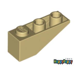 Lego 4x Dach Schräg Stein 33 3x1 Beige Tan Slope Inverted 4287 Neuware New