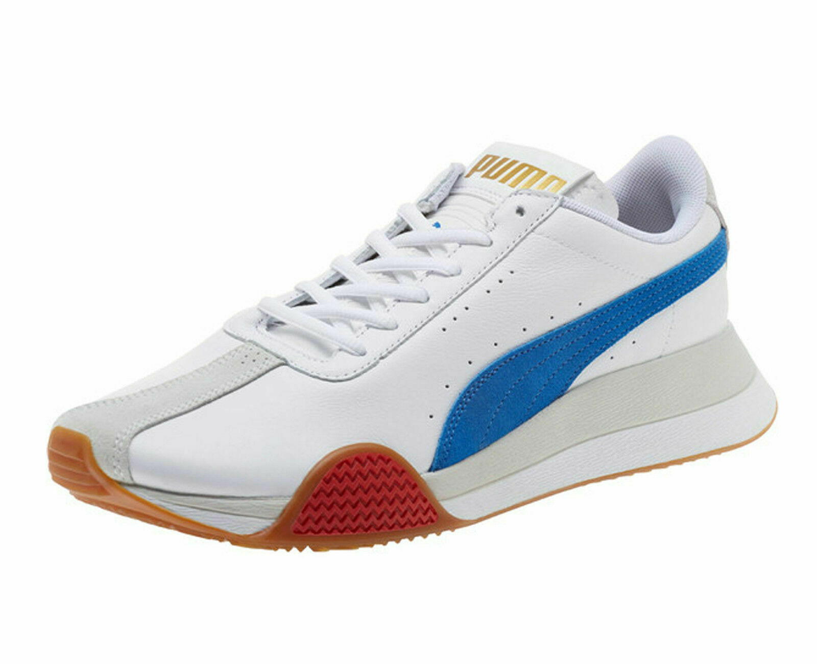 PUMA - TURIN_0 - 367794 01 - Men's Casual Athletic shoes - WHITE blueE - Size 9