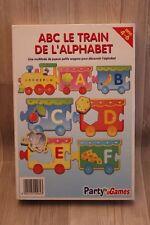 Jeu éducatif pour enfants - ABC Le Train de l'Alphabet - lettres puzzzle complet