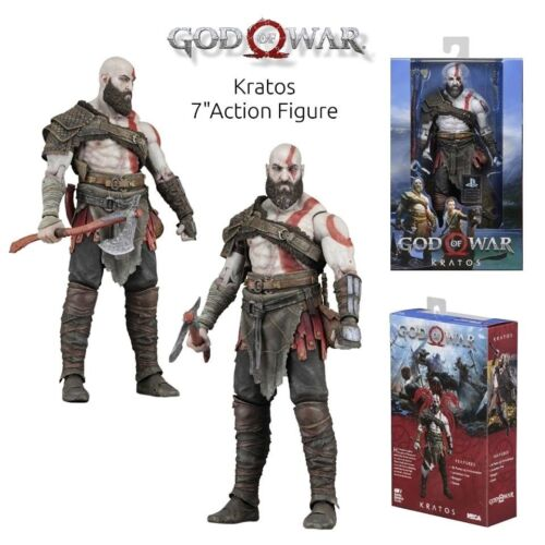 God of War 2018 7″ Scale 18 cm Kratos from Sony Videogame Action Figure NECA