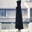 Chinese Retro Cotton Linen Womens Classic Hooded Robes Casual Workout Jacket