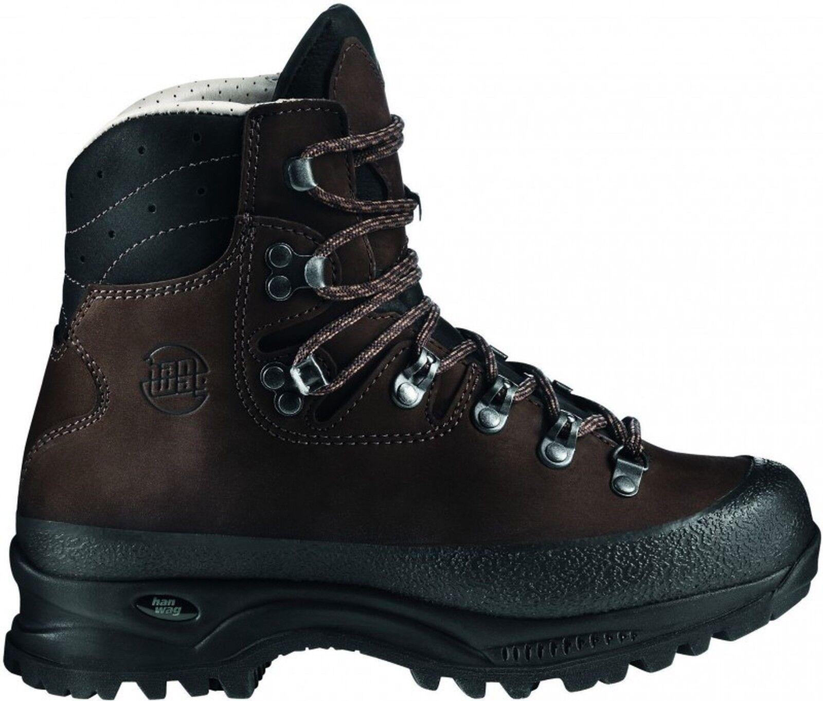 Hanwag zapatos de montaña  Yukon Lady cuero tamaño 6,5 - tierra 40