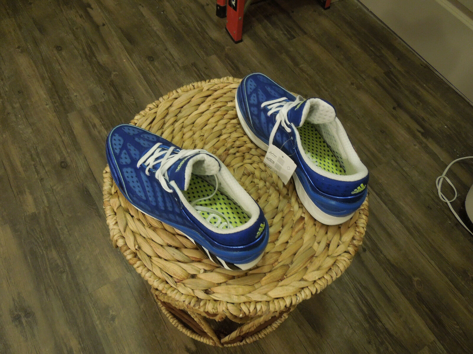 Adidas CC Seduction shoes, blue, size 9, new with box