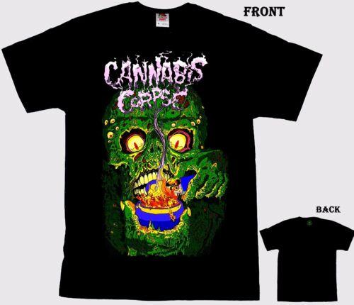 sizes S to 6XL T/_shirt marijuana-themed death metal band CANNABIS CORPSE