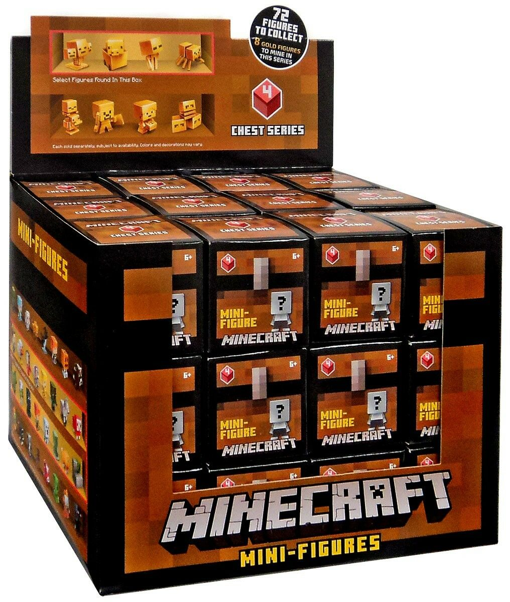 Minecraft Chest Series 4 (ROT) Mystery Box