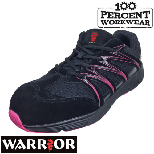 Ladies Womens Mechanics Engineers Warehouse Drivers Safety Work Trainers Shoes