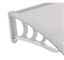 thumbnail 5 - Door Canopy Awning Shelter Canopy Outdoor Porch Shade In 2 Colours, Lightweight,