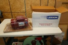 Leeson Electric Motor 11780600 15 Hp 1725 Rpm 1 Ph 115208 230 V 56h Cont Duty