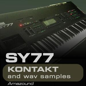 YAMAHA-SY77-KONTAKT-128-NKI-2464-WAV-SAMPLES-3-35GB-24bit-MAC-PC-MPC-FL-TRAP