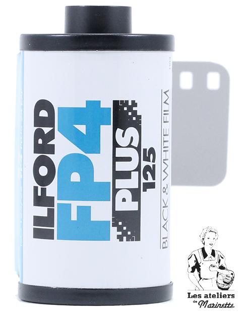 Fresh: Ilford FP4 Plus - 36 Pose - Nera Bianco - Pellicola Analogica 35mm 135
