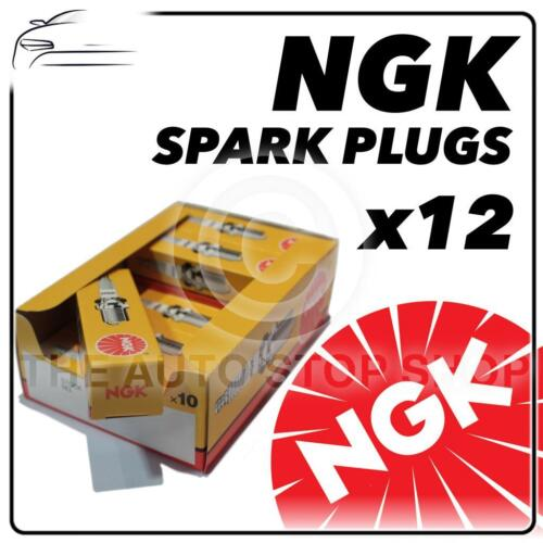 12x NGK SPARK PLUGS PART NUMBER d6ea STOCK NO 7512 NUOVO ORIGINALE NGK sparkplugs