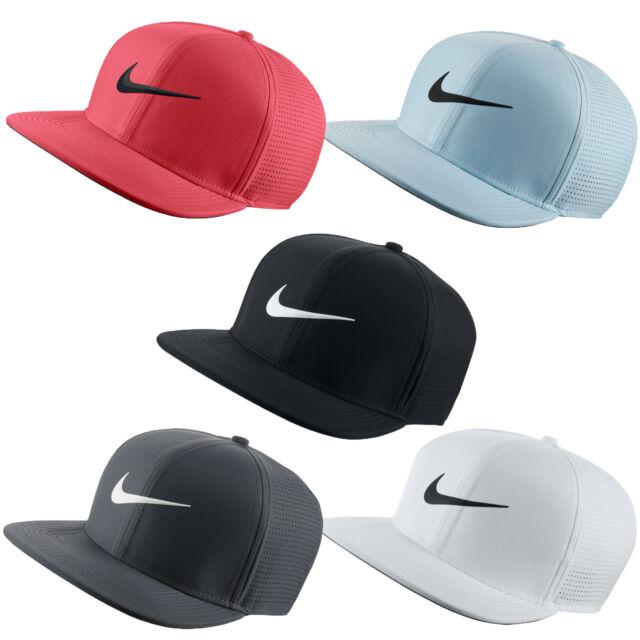 50b3479be Nike Golf 2018 Aerobill Flat Bill Adjustable Cap Hat 892643 - Pick Color