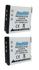 2 NP-50 15764041 Batteries for Fuji FujiFilm F50 F60 F70 F72 F75 F80 F85 F100